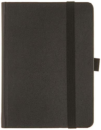 BRUNNEN 1073666901 Taschenkalender Modell 736 Kompagnon, 1 Seite = 1 Tag, 10 x 14 cm, Baladek-Einband schwarz, Kalendarium 2021
