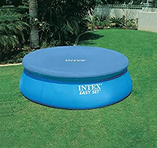 INTEX Lona protectora para piscina Easy-Pool, color azul, diámetro de 244 cm