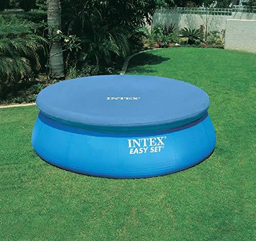 INTEX Bâche de protection pour piscine facile - Bleu - Ø 244 cm