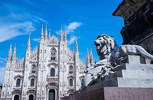 GenericBrands Rompecabezas para Adultos 500 Piezas De Rompecabezas Juguetes Educativos Juguetes Educativos para Niños De La Catedral De Milán