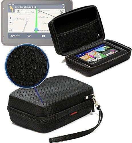 Navitech Schwarz AntiShock Schutz Case Cover Sleeve für das Magellan Roadmate 5430T-LM/Magellan Smart GPS 5390 / Magellan Roadmate 5375T