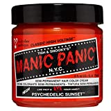 Manic Panic Psychedelic Sunset Orange Hair Dye