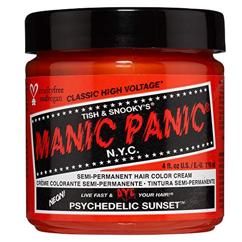 MANIC PANIC Cream Formula Semi-Permanent Hair Color - Psychedelic Sunset