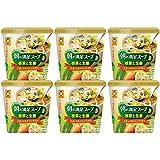 カップ朝の満足スープ 根菜と生姜 11g ×6個