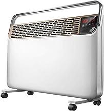 XHHWZB Calentador eléctrico for el hogar y la Oficina pequeña Estufa con termostato Ajustable 900W / Ajustes 1300W / 2200W de Potencia con Tip-Over y protección del sobrecalentamiento