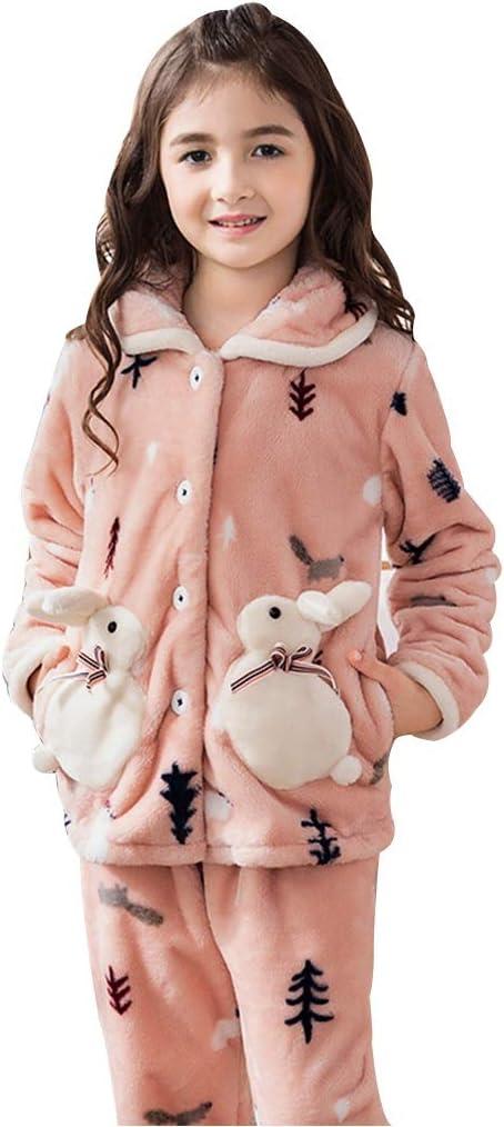 Pijamas Pijamas para niños Pijamas de Franela para niñas Ropa ...