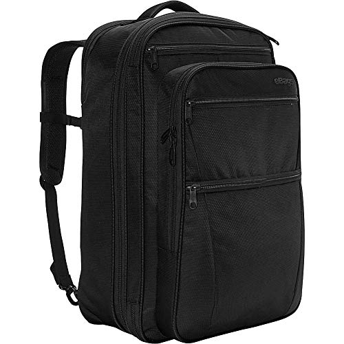 ebags etech 3.0 Carry-On Travel Backpack With Expandable Sides - Fits 17 Inch Laptop - (Black)