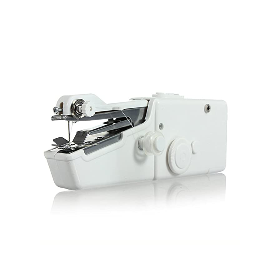 Mini Handy Sewing Machine Portable sewing Machine Portable Quick Stitch Tool for Fabric, Clothing, or Kid's Clothes