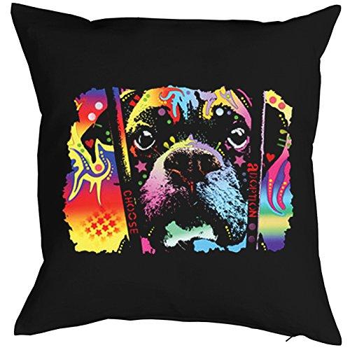 Choose adoption Boxer Pillow, oreiller, almohada, Cuscino Pop Art Style