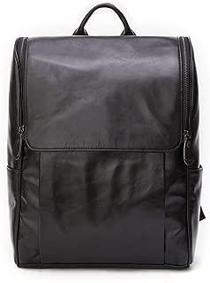 Mens Bag Retro Handmade Leather Men's Bag Multi-function Backpack Computer Bag Large Capacity Outdoor Leisure Shoulder Bag High capacity