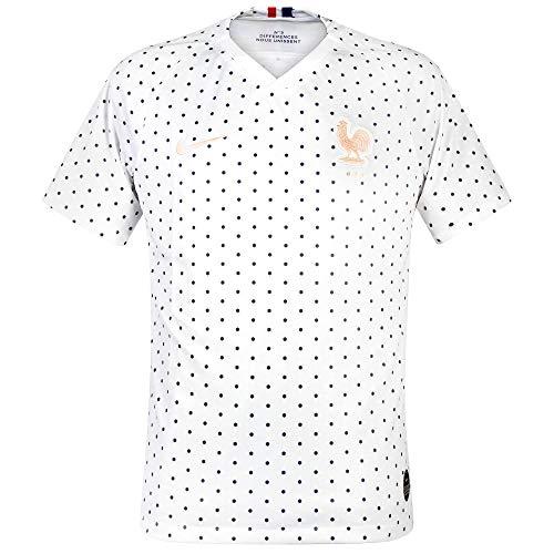 Nike 2019 France Away Stadium Jersey (White) (XL)