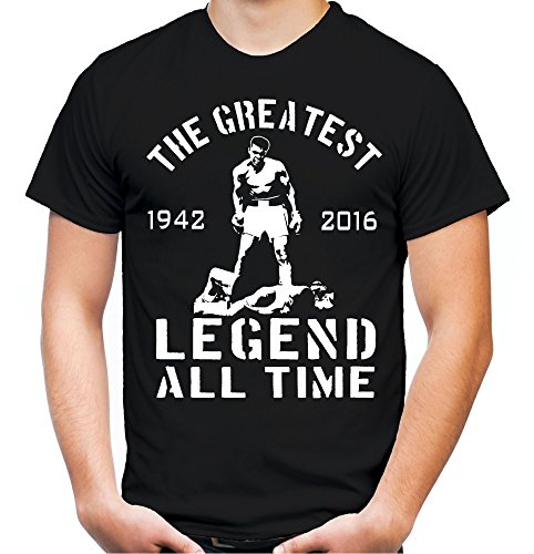 The Greatest T-Shirt | Muhammad Ali | Boxing | Cassius Clay | Legende | Rest in Peace (XXL)