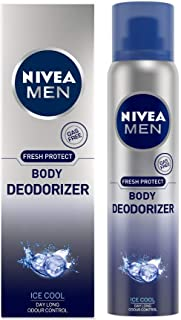 NIVEA MEN Deodorant, Ice Cool Deodorizer, 120ml