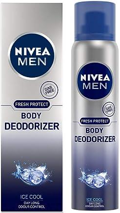 Nivea Men Body Deodorizer Ice Cool, Gas Free Deodorant 120ml