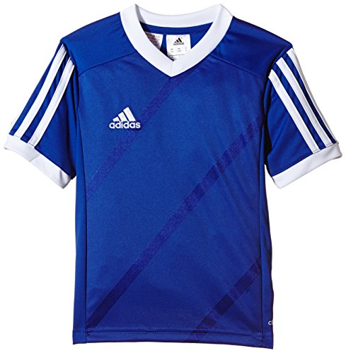 adidas Tabe 14 JSY - Camiseta para hombre, color azul / blanco, talla S