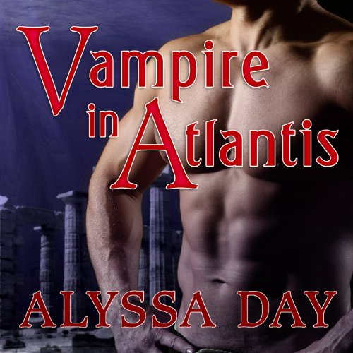 Vampire in Atlantis audiobook cover art