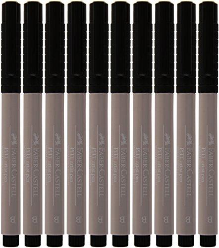 Faber-Castell Pitt Artist - Rotulador, 10 unidades