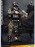 HOOPOO 1/6 Ejército Escala figura de acción militar, 12 pulgadas MARINO Force Recon buceador del combate ARBOLADO MARPAT VER flexible macho soldado modelo de recogida de juguetes militares Set de Jueg