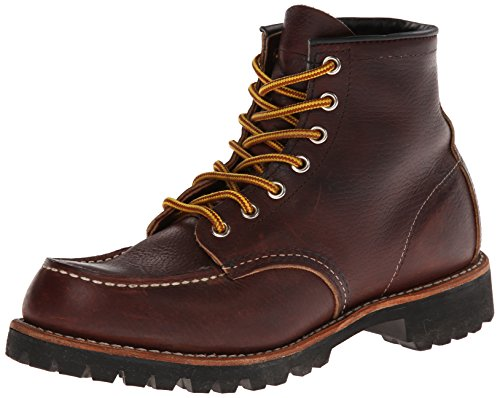 Red Wing Heritage Men's Six-Inch Moc Toe Lug Boot,Brown,10 D US