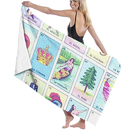 Gebrb Toallas de baño,Toalla de Playa,Manta de Playa,Camping Towel, Gym Towel, Sports Towel, Swimming Towel 31