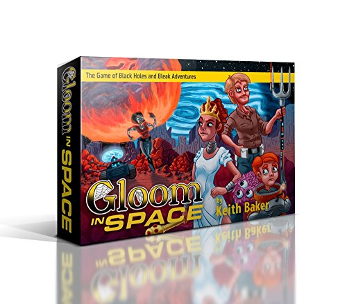 Atlas Games ATG01334 - Gloom in Space, Familien Strategiespiel