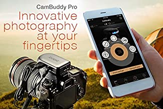 Cambuddy Pro (Silver):Do-It-All DSLR Smart Controller- Wireless Capture and Transmit; Sound, Lightning and Laser Trigger e...