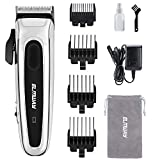 Hair Clippers for Men, Professional Cordless Barber Clippers for Hair Cutting, Beard and Hair Trimmer Rechargeable Mens Haircut Kit with Power Display