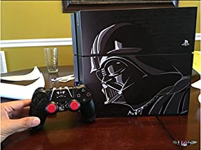 TOPGOOD Star Wars Battlefront Limited Edition Skin Decal for Plartation 4 console & PS4 Wireless Controller Skins Stickers - Black Knight