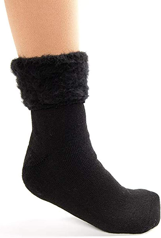 The Original Comfort Comfort Comfort Bed Socks - Solid svart  bekväm