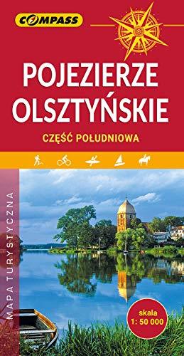 Pojezierze Olsztyńskie. Mapa turystyczna w skali 1:50 000
