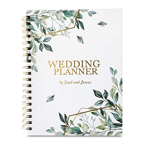 B5 Wedding Planning Book with Wedding Stickers | Perfect Engagement Gift for Couples | Wedding Planner Book and Organizer for the Bride to be | Gender-Neutral
