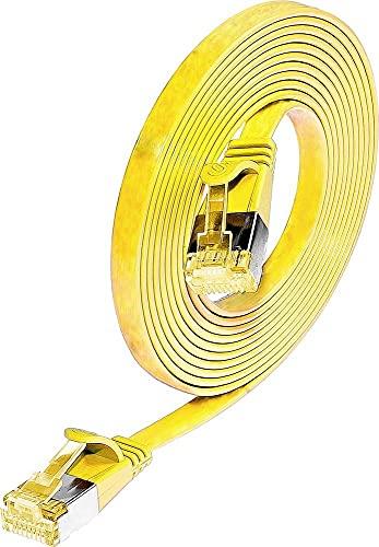 Wirewin RJ45 CAT 6 S/STP - Cable slimpatch (5 m), color rojo
