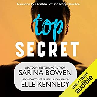 Top Secret audiobook cover art