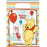 Unique Party 71290 - Disney Winnie The Pooh Party Bags, Pack of 6