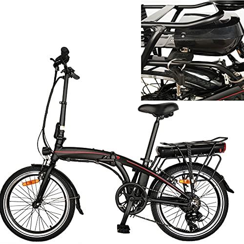 Bici Pieghevole Bike City bike elettrica City bike elettrica pneumatici da 20 pollici Bicicletta pieghevole con batteria rimovi