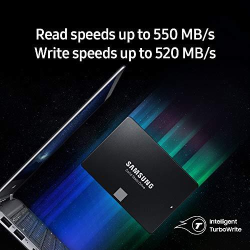 Samsung Memorie MZ-76E4T0 860 EVO SSD Interno da 4 TB, SATA, 2.5