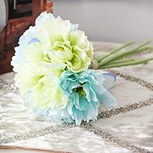 ShineBear 1 Bouquet DIY Fresh Artificial Flower Rosemary Silk Flower Fake Plant for Wedding Home Party Decorative 3 Colors