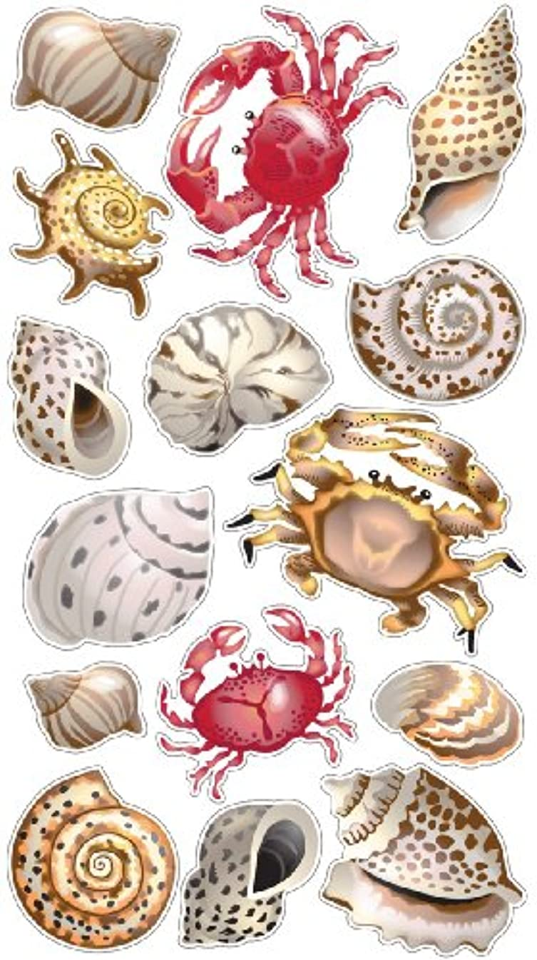 Sticko Classic Stickers, Shells and Crabs
