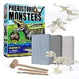 piberagi Dinosaur Excavation Kits Fossil Digging Kit Dinosaur Digging Fossil Set for Kids Dinosaur Skeleton Model Discovery Toys