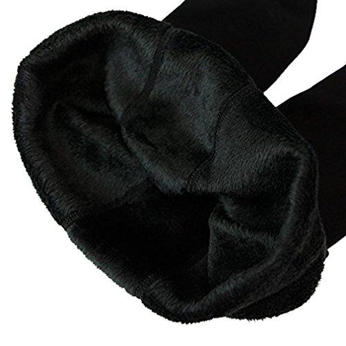 Eleery Damen weiche Slim Leggings Leggings Hose Dicke Winter warme Fleece-Futter Stretch Hüfthose Gamaschen Taille 50-86cm für EU32-42