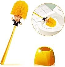 Donald Trump Toilet Brush - Vimbo Original Trump Toilet Brush Make Your Toilet Great Again with Base Holder