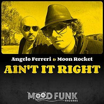 Ain't It Right (Radio Edit)