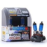Hipro Power H10, 9040, 9050, 9055, 9140, 9145 5900K 42 Watt Super White Xenon HID Fog Light Bulbs