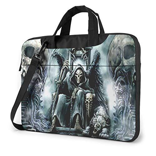 Laptop Bag Scary Skull Laptop Shoulder Bag Messenger Briefcase Laptop Case Sleeve