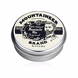 Mustache Wax by Mountaineer Brand (2oz) | All-Natural Beeswax and Plant-Based Oils for Moustache | No Petroleum… 6