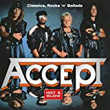 Accept: Hot & Slow: Classics Rock N Ballads [Limited 20th Anniversary EditionSilver & Red Marble Colored Vinyl] [Vinyl LP] (Vinyl (0th Anniversary Edition))