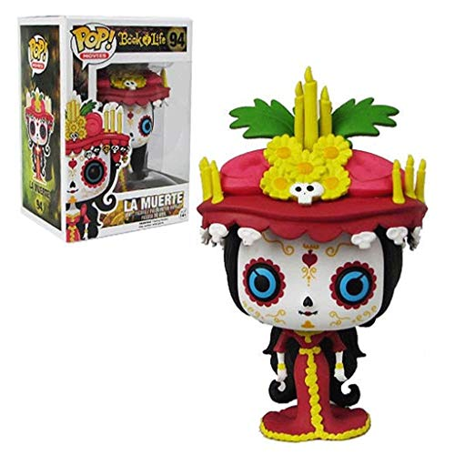 Gogowin Pop Movies : Book of Life - La Muerte 3.75inch Vinyl Gift for Movies Fans Chibi Figure