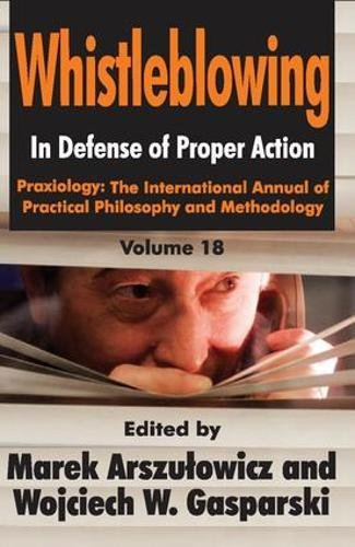 Whistleblowing: In Defense of Proper Action: 18