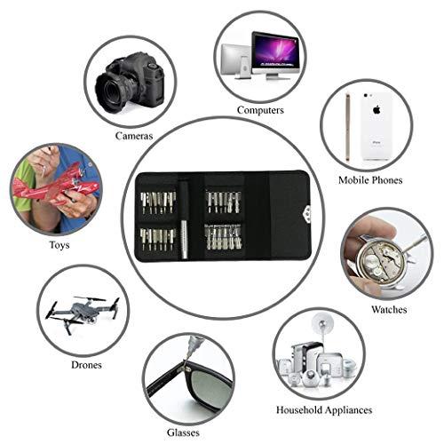 31 in 1 Mini precision screwdriver set repair tool kit, Watch Jewelry Electronic Repair Tool Set Precision Screwdriver Phones Tablet Camera Repair