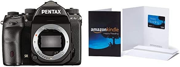 "$1799 » Pentax K-1 Mark II 36MP Weather Resistant DSLR with 3.2"" TFT LCD, Body Only, Black with $200 Amazon.com Gift Card"